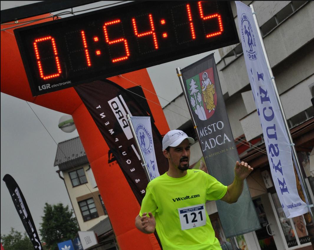 2012-06-09 Kysucký polmaratón