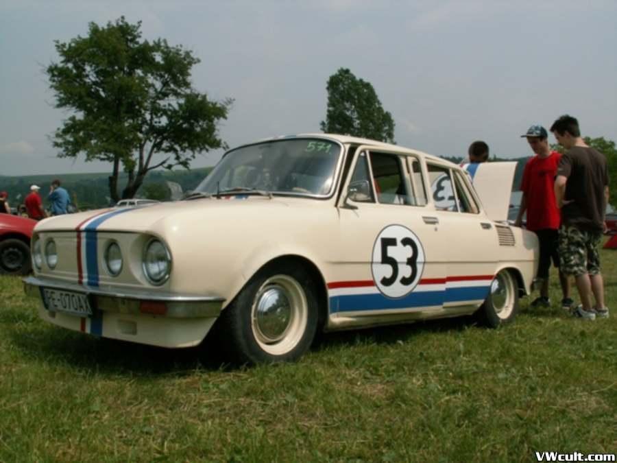 Skoda 100 Herbie