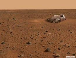 VW Beetle on Mars