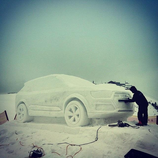 Ice Audi Q7