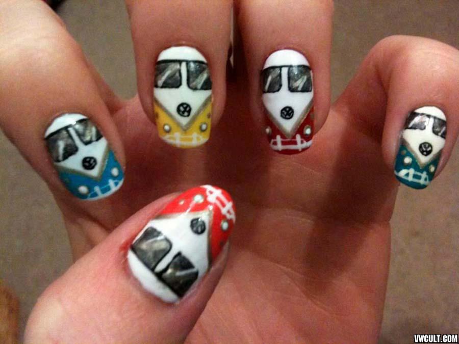 VW manicure