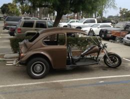 VW Beetle Bike mutant