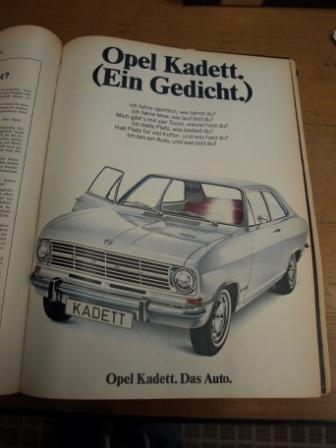 Opel Kadett - Das Auto