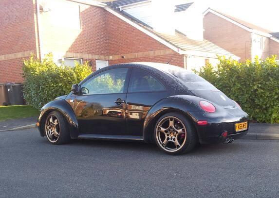 Volkswagen NewBeetle Porsche Wheels