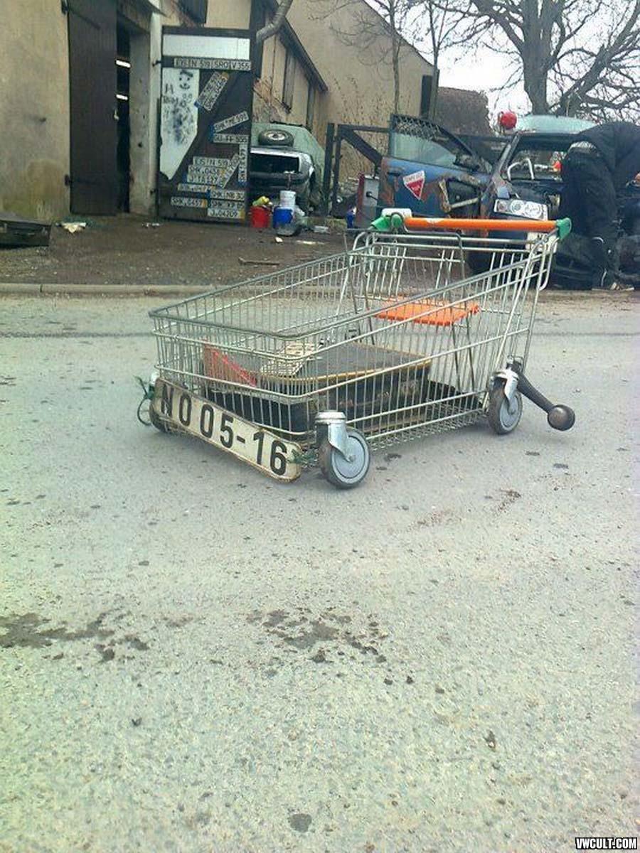 Low Shopping Wagon
