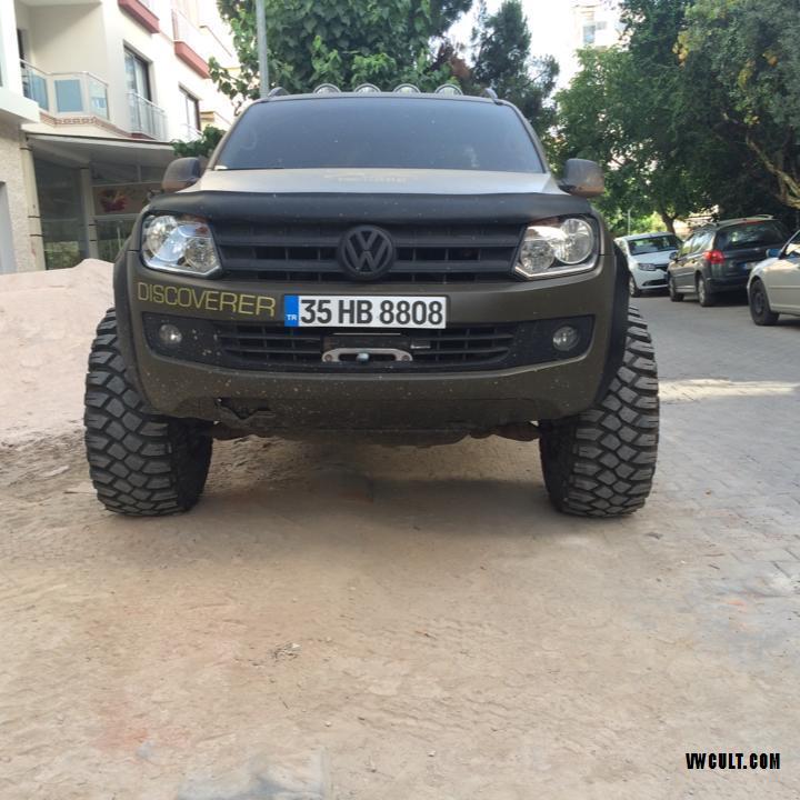 Volkswagen Amarok Army style