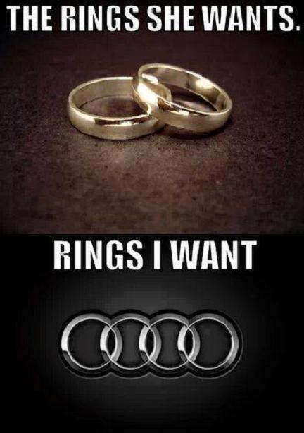 Rings she wants