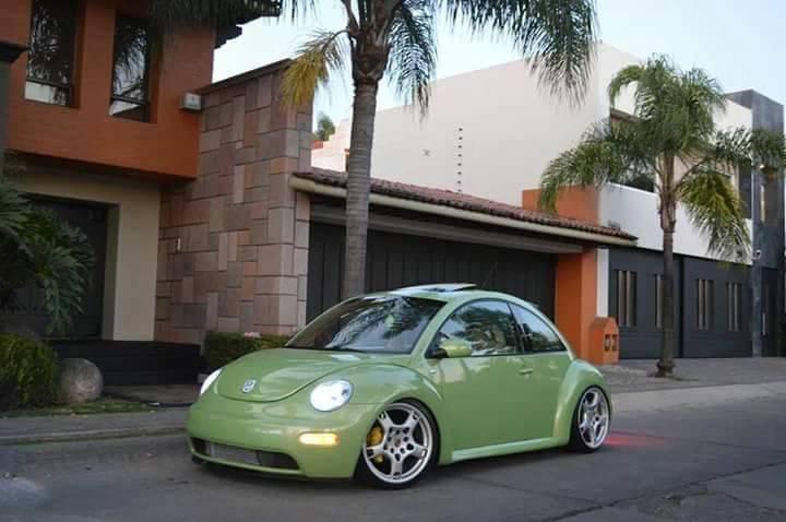 Volkswagen NewBeetle (Porsche felgen)