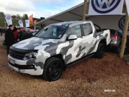 Volkswagen Amarok masking effect