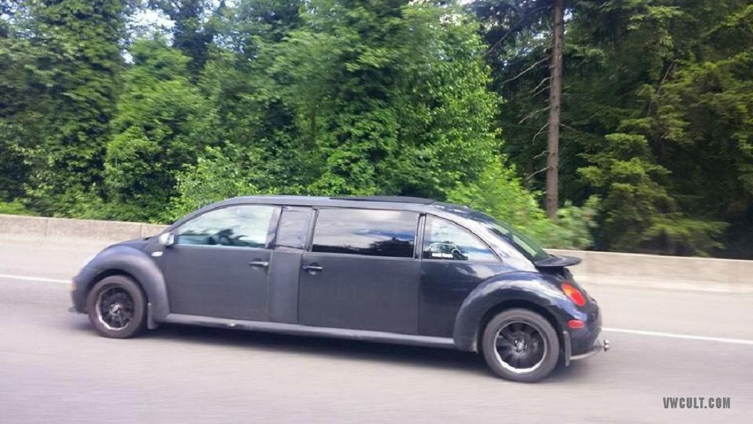 Volkswagen NewBeetle limousine