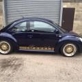 Volkswagen NewBeetle blue