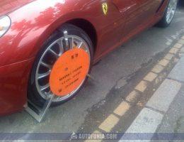ferrari 599 gtb fiorano parking