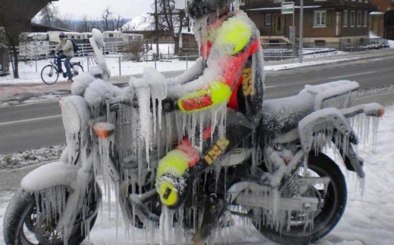 frozen motorider