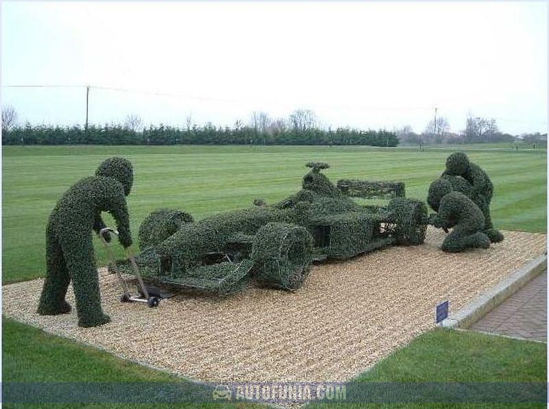 creative garden work