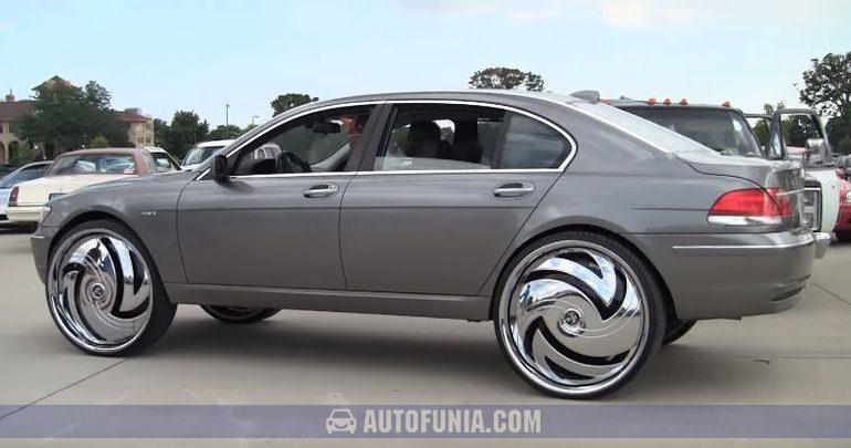 bmw 750 30inch wheels