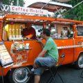 vw bus coffe mobile