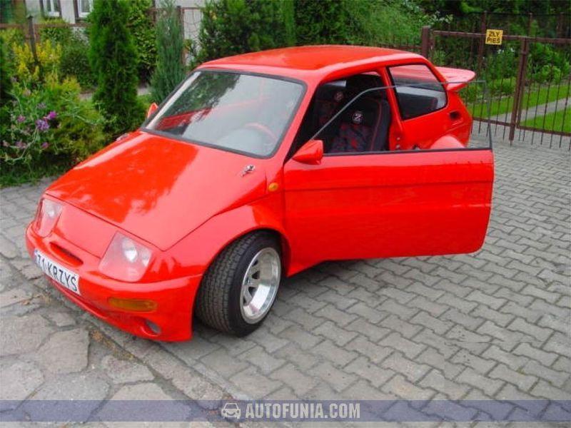 Fiat 126p Red Tuning Autofunia