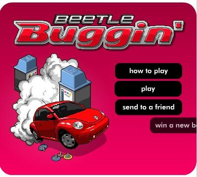 Flash Game: Beetle buggin