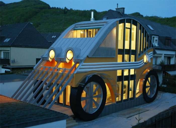VW Beetle House