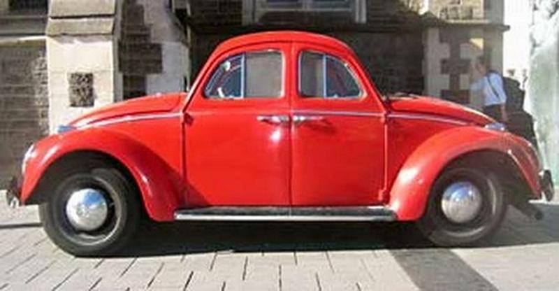 VW Beetle double
