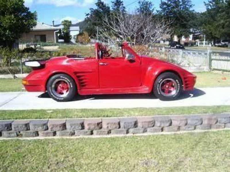 VW Beetle porsche