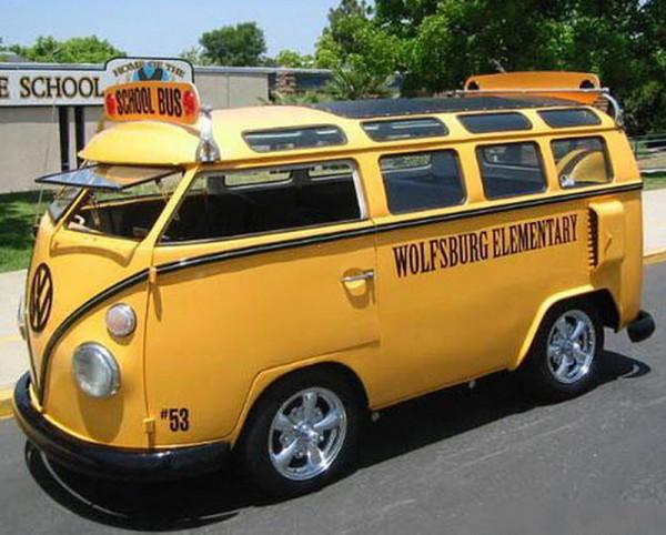 VW Bus Shool Bus