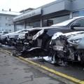 Schneepflug bei Audi
