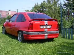 luka and his cars - kadett