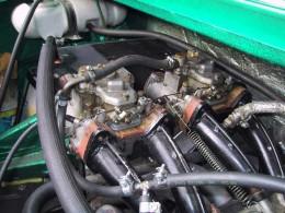 Skoda 130 tuning green