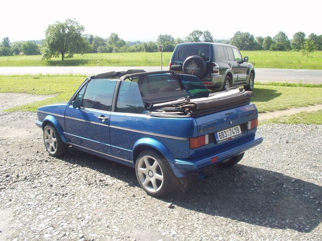 Volkswagen Golf MK1 cabrio (cz)