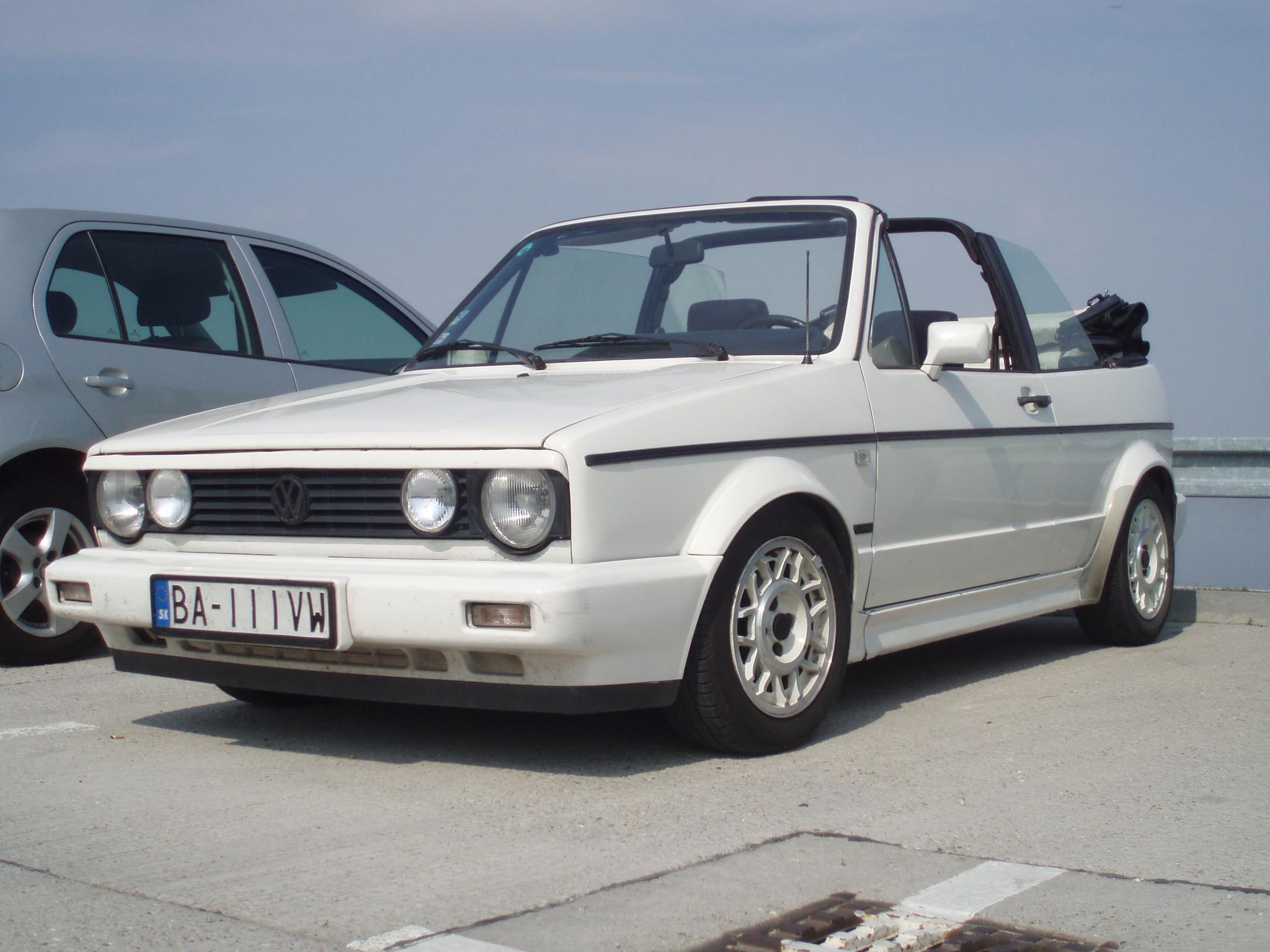 VW Golf MK1 cabrio (Luka)