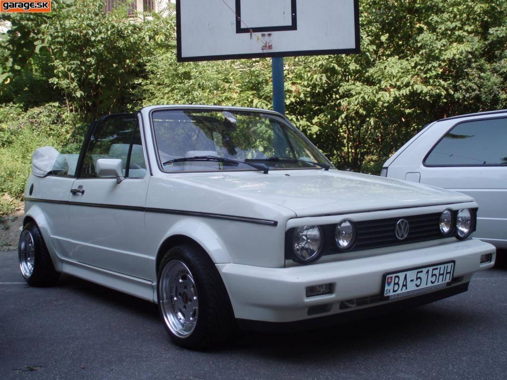 Volkswagen Golf MK1 cabrio (Mato515)