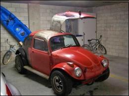 Volkswagen Käfer mir Flugelturen