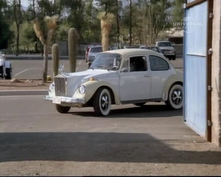 Volkswagen Beetle (Rolls Royce front)