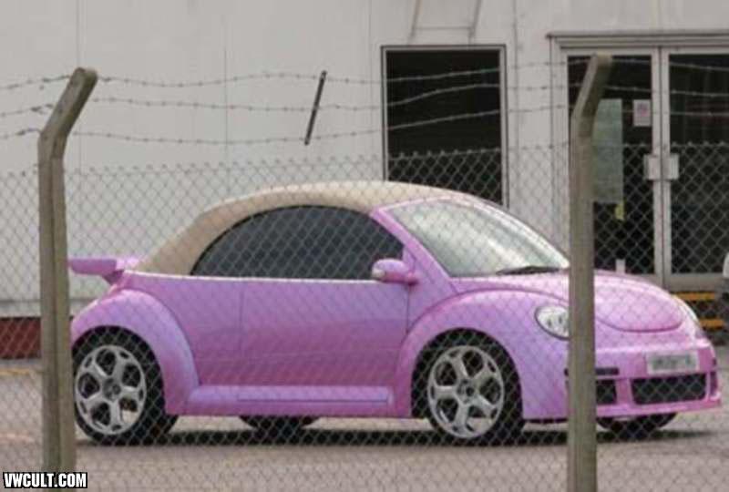 Volkswagen NewBeetle Rosa