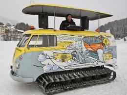 Volkswagen T1 tank for DJs