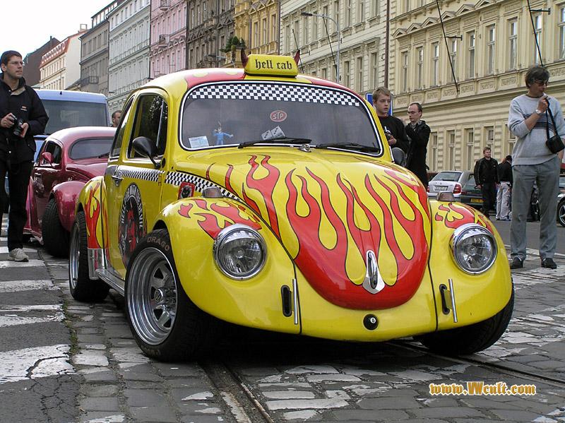 Volkswagen Beetle Hellcab