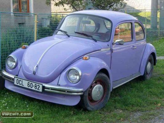 Volkswagen Beetle (lila)
